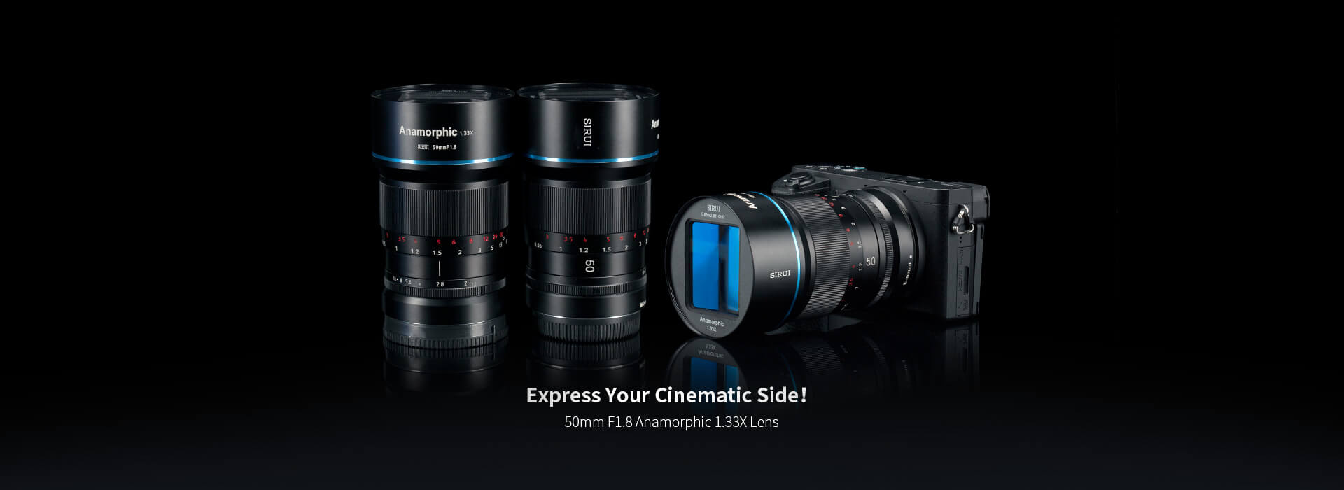 Sirui Anamorphic Lens 50mm
