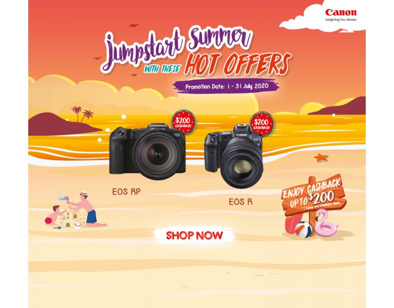 Canon July 2020 Promo