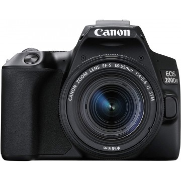 Canon EOS 200D II Kit with EF-S 18-55mm F4-5.6 IS STM