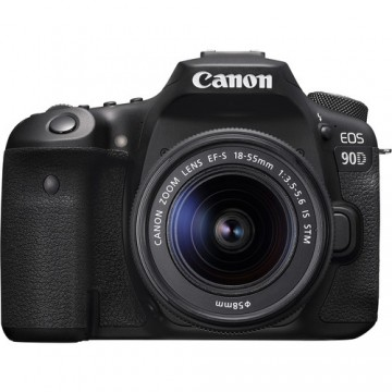 Canon EOS 90D Kit with EF-S18-55mm f/3.5-5.6 IS STM