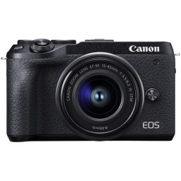 Canon EOS M6 Mark II Kit with EF-M15-45mm f/3.5-6.3 IS STM