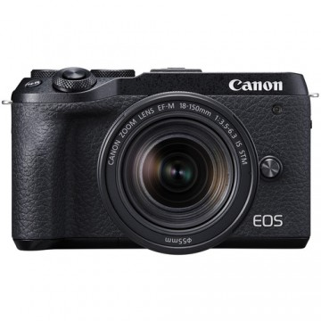 Canon EOS M6 Mark II Kit with EF-M18-150mm f/3.5-6.3 IS STM