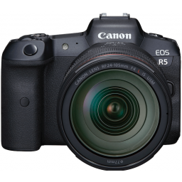 Canon EOS R5 Kit RF24-105mm f4L IS USM