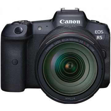 Canon EOS R5 Kit RF24-105mm f4L IS USM (Pre-Order 9th July - 28th July 2020)