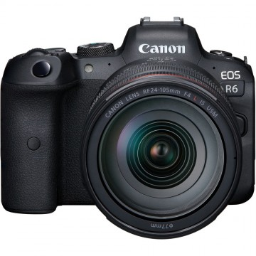 Canon EOS R6 Kit RF 24-105mm f4L IS USM (Pre-Order 30th July - 25th August 2020)