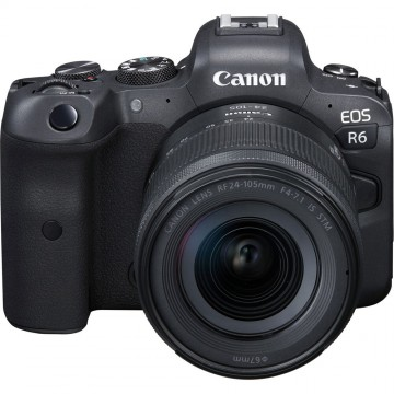 Canon EOS R6 Kit RF 24-105mm f4-7.1 IS STM (Pre-Order 30th July - 25th August 2020)