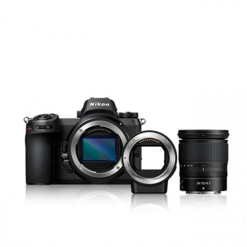 Nikon Z 6 + Z 24-70mm f/4 S Lens + FTZ  Mount Adapter