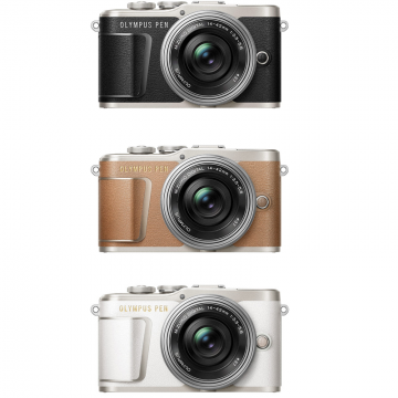 Olympus PEN E-PL9 Kit with 14-42mm f/3.5-5.6 + 40-150mm f/4-5.6