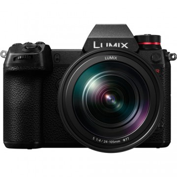 Panasonic Lumix S1R Kit with 24-105mm f/4 Macro O.I.S Lens