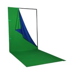 PHOTTIX Q-Drop Collapsible Backdrop Kit (4-color, 1.5m*4m)