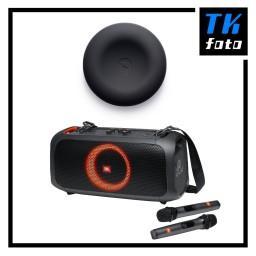 Popsical K-box Home Karaoke System + JBL PartyBox On-The-Go Bundle